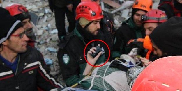 Elindeki telefon sayesinde hayatı kurtuldu