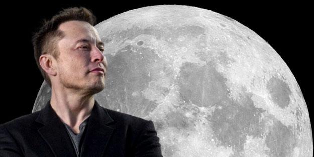 Elon Musk Ay'da araba yarışı düzenleyecek