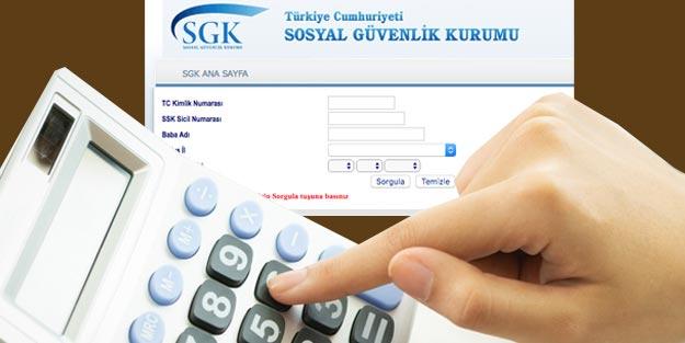 Emekli maaşı hesaplama SGK Bağkur Emekli sandığı maaş sorgula