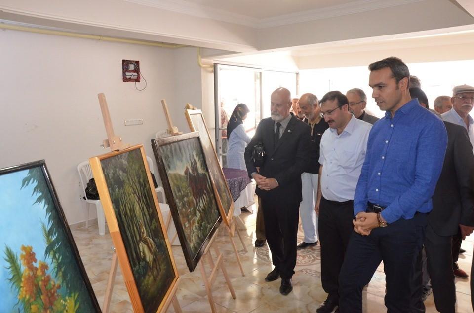 Emet'te '3 Eylül Kurtuluş Haftası' etkinlikleri, resim ve ahşap sergisinin açılışıyla başladı