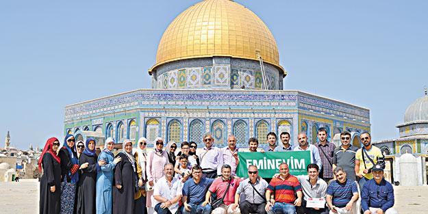 Eminevimciler Kudüs'te
