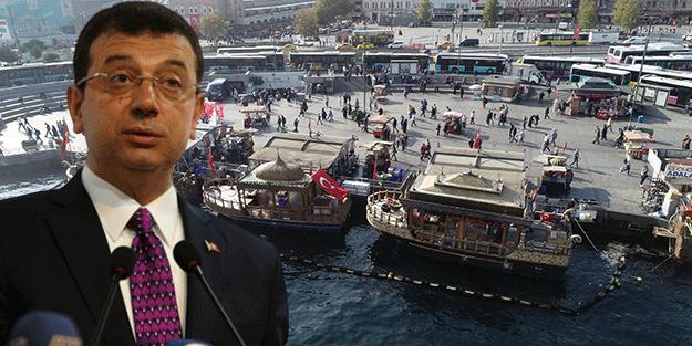 Eminönü esnafı imamoğlu'na tepkili! 'Biz de Ekrem'e oy verdik ama demek ki yalanmış'