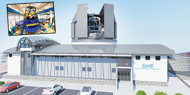 En büyük temel bilim yatırım projesi Erzurum'da