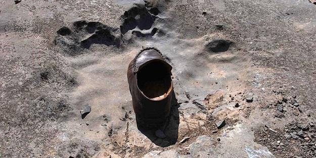En küçük dinozor ayak izleri bulundu