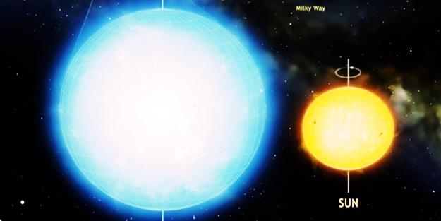 En yuvarlak yıldız keşfedildi