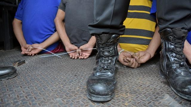 Endonezya'da 448 mahkum firar etti
