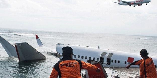Endonezya'da düşen uçakla ilgili yeni açıklama