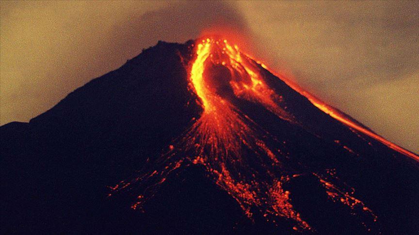 Endonezya'da MerapiYanardağı'nda patlama