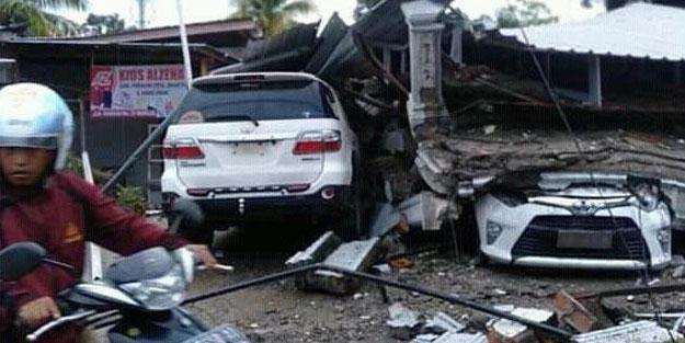 Endonezya'daki depremde bilanço artıyor