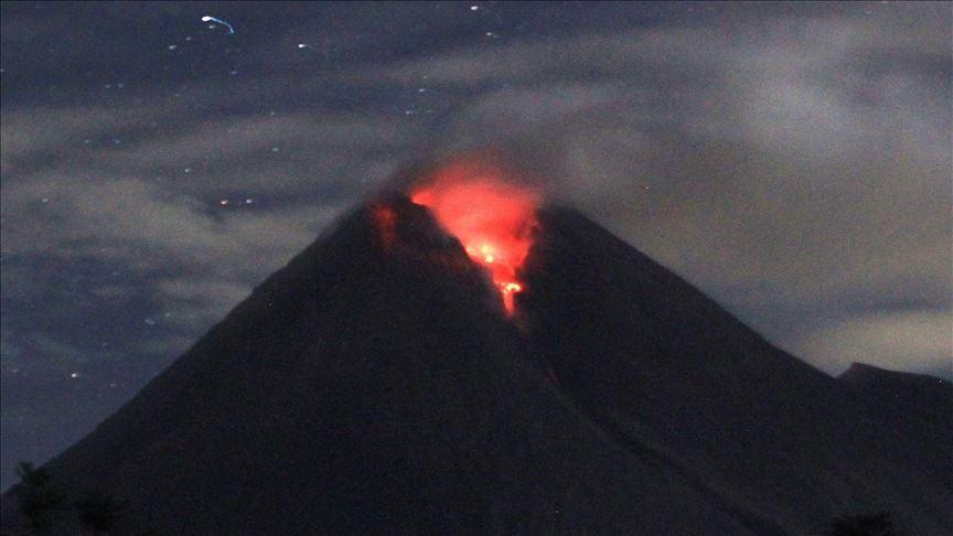 Endonezya'daMerapiYanardağı'nda patlama
