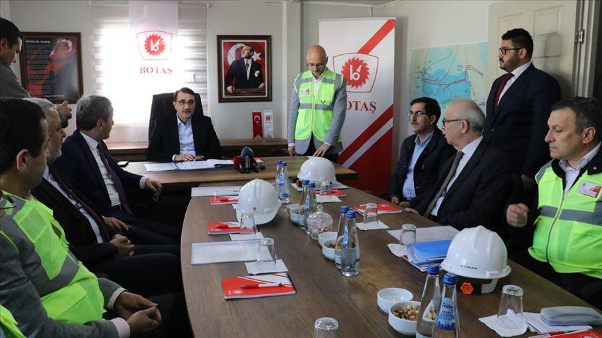 Enerji ve Tabii Kaynaklar Bakanı Fatih Dönmez: TürkAkım Projesi'ni yıl sonuna kadar bitireceğiz