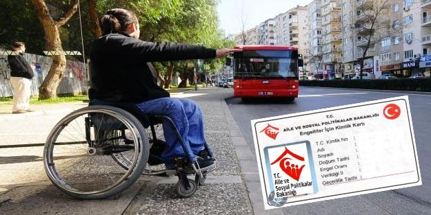Engelli kimlik kartı nedir, nereden alınır? Engelli kimlik kartı nerelerde kullanılır?