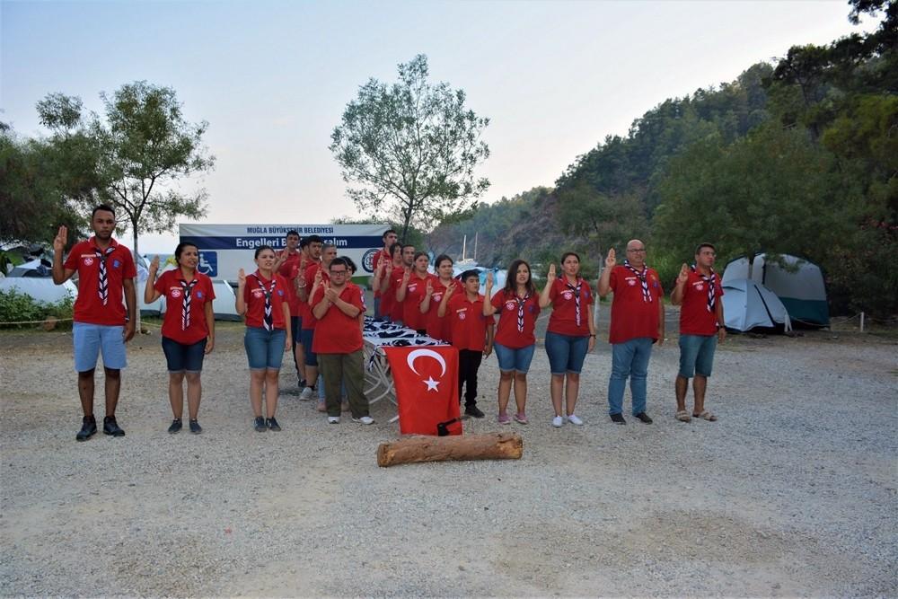 'Engelsİzciler' kampında engeller aşıldı