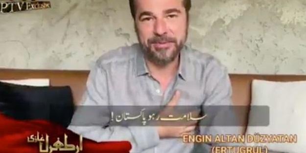 Engin Altan Düzyatan'dan Pakistanlılara bayram mesajı