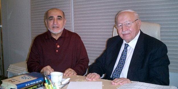 Erbakan'ın dava arkadaşı Mustafa Tahhan Hakk'a yürüdü!