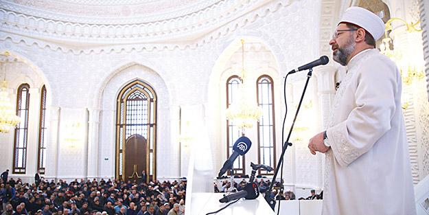 Erbaş'tan İslam âlemine birlik çağrısı
