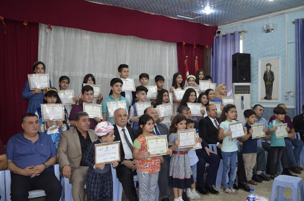 Erbil'de 80'den fazla öğrenci Türkçe Dil Kursu'nu başarıyla tamamladı