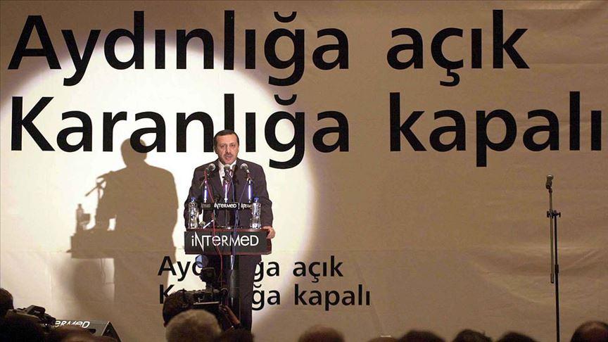 'Erdemliler Hareketi'nin partisi AK Parti 19 yaşında