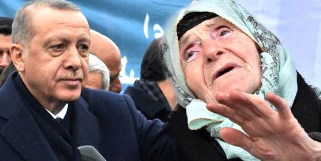 Erdoğan, 100 yaşındaki kadının isteğini duyar duymaz talimat verdi