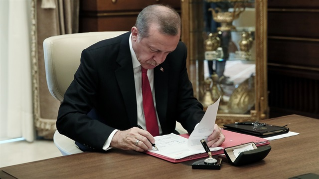 Erdoğan 4 kanunu onayladı