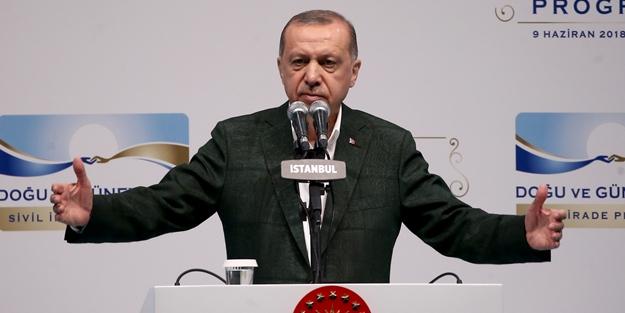Erdoğan'dan çok sert tepki: Be ey cahil