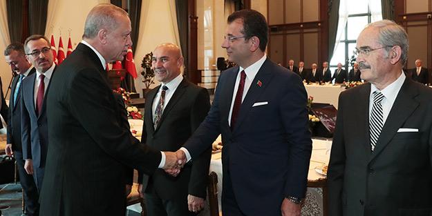 Erdoğan açık açık yüzüne söyledi! Ekrem İmamoğlu üzerine alınmadı