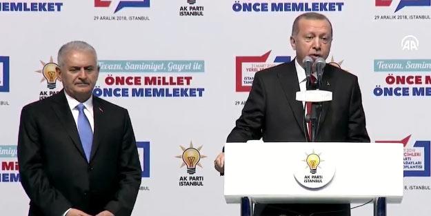 AK Parti'nin İstanbul adayları ve Binali Yıldırım