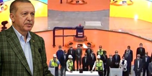Erdoğan açılış sırasında anında uyardı: Biz yapalım ki...