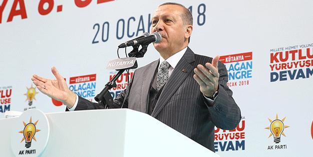 Erdoğan: Afrin harekatı fiilen başladı