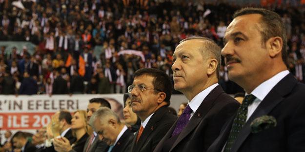 Erdoğan AK Parti'nin İzmir adaylarını açıkladı! İşte tam liste...
