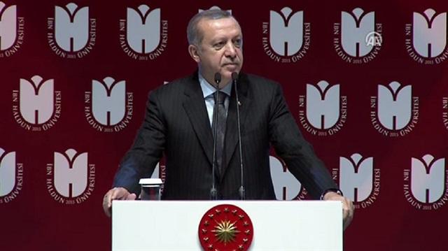 Erdoğan: Alman imparatorunun Abdülhamit'e hediye ettiği kitaplar çöpe atıldı