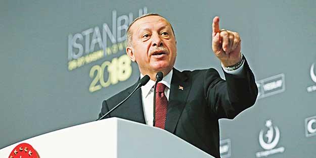 Erdoğan: Batı, Fransa'ya kör