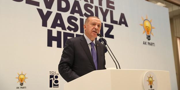 Erdoğan: Bir kez daha derslerini aldılar