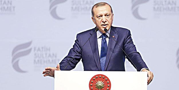 Erdoğan: Biz de AB'yi referanduma götürürüz