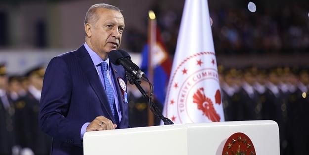 Erdoğan: Biz de onları kapının önüne koyarız