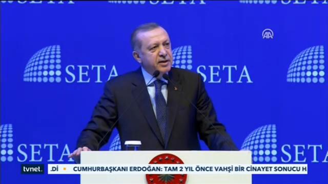 Erdoğan: Biz sistem mücadelesi veriyoruz