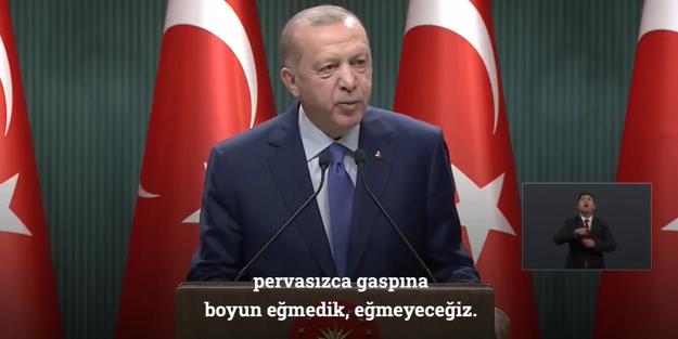 Cumhurbaşkanı Erdoğan'dan dünyaya mesaj!