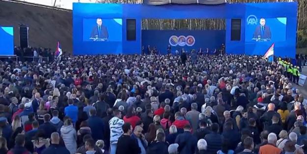 Erdoğan: Bölgenin geleceğini güçlü bir şekilde inşa edeceğiz
