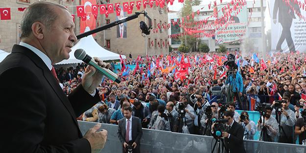 Erdoğan 'Bu nasıl enerjidir' sorusu soran gence cevap verdi!