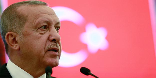 Erdoğan: Terör örgütlerini silaha boğanların dökülen her Müslüman kanında parmağı var