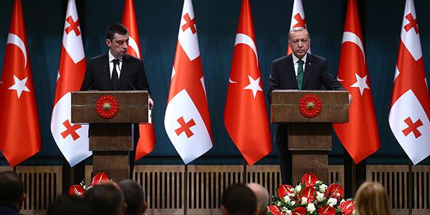 Erdoğan canlı yayında açıkladı: Talimat verdik, en kısa zamanda Gürcistan ile stratejik iş birliği konseyimizi toplayacağız