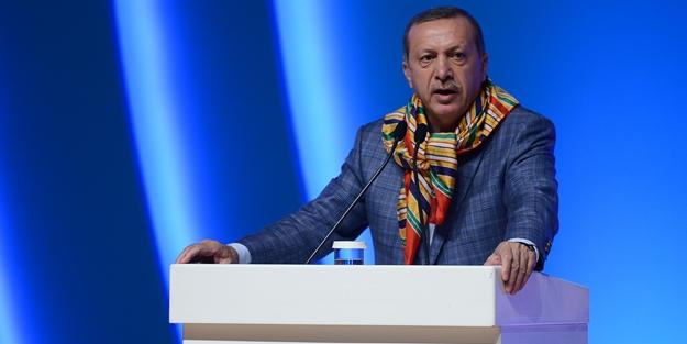 Erdoğan: CHP Genel Müdürü'nün çapı bu kadar