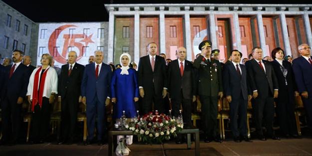 Erdoğan: Darbenin arkasındakileri söylersek uluslararası kriz çıkar!