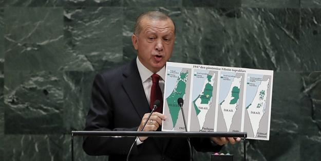 Erdoğan dün dünyaya haykırmıştı! BM'de bir ülkeden daha Filistin çağrısı
