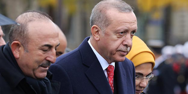 Erdoğan Fransa'dan ayrıldı