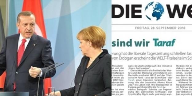 Die Welt'ten FETÖ provokasyonu!