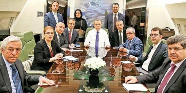 Erdoğan: Gördüğüm anda irkildim!