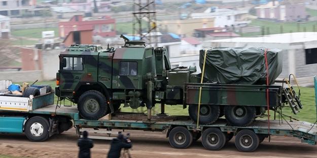 Erdoğan 'Her yerde vururuz' demişti... Kritik silahlar Suriye sınırına ulaştı!