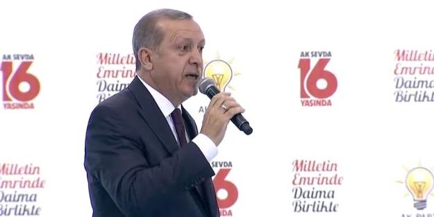 Erdoğan: Hiç kimse kerameti kendisinde görmesin!
