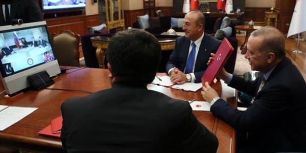 Erdoğan ile Maduro telekonferansla görüştü!
